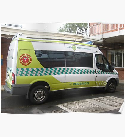 Patient Transport Ambulance, Warragul Poster