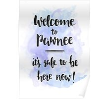 Welcome to Pawnee Poster