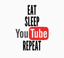 Eat, Sleep, Youtube, Repeat Unisex T-Shirt