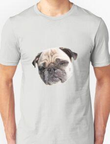 funny looking pug dog Unisex T-Shirt