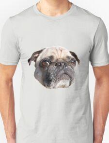 Pissed of Pug dog Unisex T-Shirt