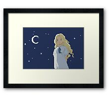 8 bit Marnie Framed Print