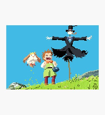 8 bit Howl 2 Photographic Print