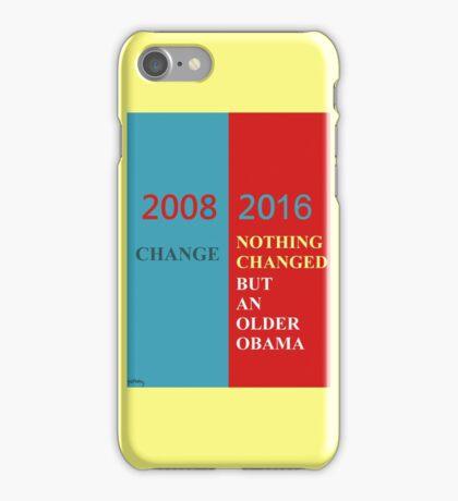 No change iPhone Case/Skin