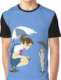 8 bit The cat returns Graphic T-Shirt