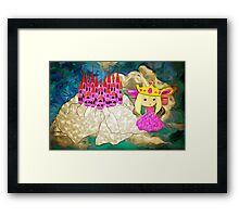 And Where is my Knight in Shining Armour Then! Framed Print