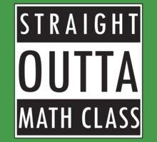 Straight Outta Math Class One Piece - Short Sleeve