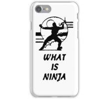 What Is Ninja iPhone Case/Skin