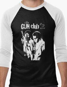 THE GUN CLUB -FIRE OF LOVE- Men's Baseball ¾ T-Shirt