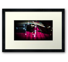 Strings of Colourful Sound Framed Print