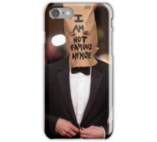 I AM NOT FAMOUS ANYMORE iPhone Case/Skin