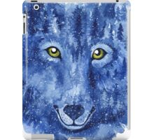 Wolf. Forest animal. Watercolor Animal Wolf. iPad Case/Skin