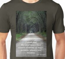 Forest of Magic, Serenity, Sorcery and Mystery Unisex T-Shirt