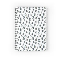 Funny penguins   Spiral Notebook