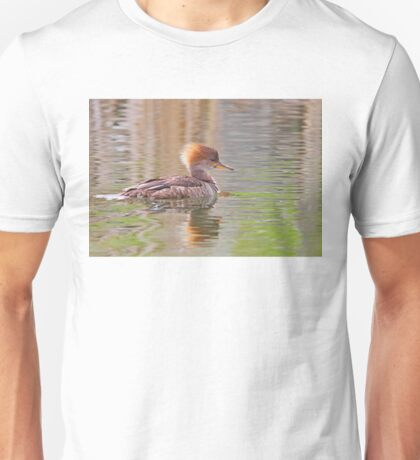 Hooded Merganser Unisex T-Shirt