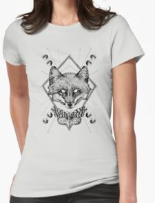 Fox #2. Womens Fitted T-Shirt