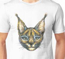 Caracal cat wild draw Unisex T-Shirt