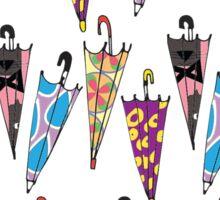 Lost Umbrellas Sticker