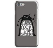 Unleash your inner monster  iPhone Case/Skin