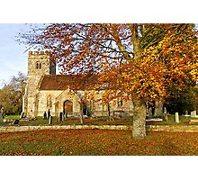 Codford St Mary Church, Wiltshire, United Kingdom. Photographic Print