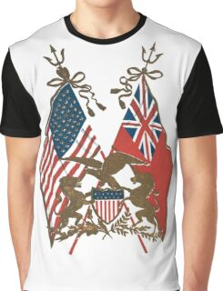 Two Flags Graphic T-Shirt