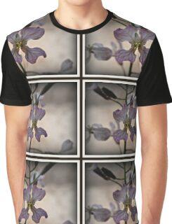 Fancy Aussie Orchid Graphic T-Shirt