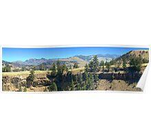 Yellowstone Panorama 4 Poster