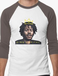 King Capital Steez Men's Baseball ¾ T-Shirt