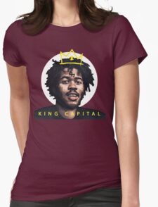 King Capital Steez Womens Fitted T-Shirt