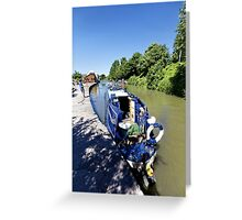 Devizes Wharf, Wiltshire, United Kingdom. Greeting Card