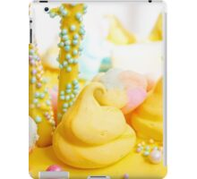 Beautiful bright colorful sweets for Birthday cake iPad Case/Skin