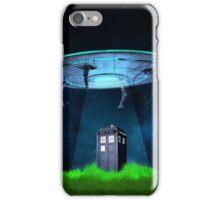 Tardis UFO iPhone Case/Skin