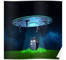 Tardis UFO Poster