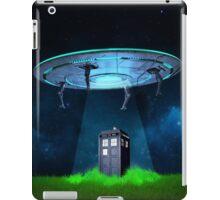 Tardis UFO iPad Case/Skin