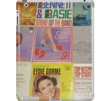 Vintage Records Collection 1B iPad Case/Skin