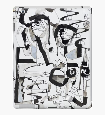Behind Cover iPad Case/Skin