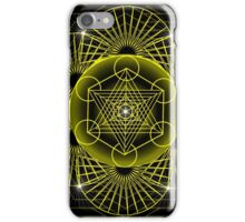 Metatron's Cube iPhone Case/Skin