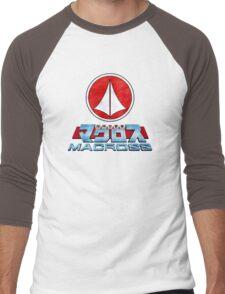 Macross Logo Men's Baseball ¾ T-Shirt