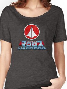 Macross Logo Women's Relaxed Fit T-Shirt