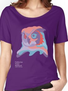 Catherine's Owl - Dark Shirts Women's Relaxed Fit T-Shirt