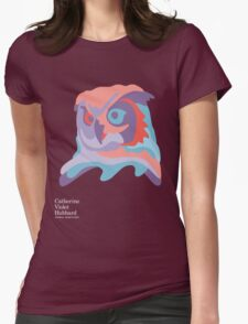 Catherine's Owl - Dark Shirts Womens Fitted T-Shirt