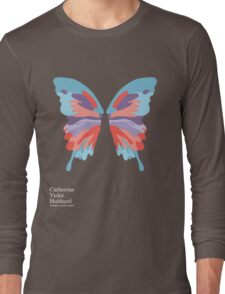 Catherine's Butterfly - Dark Shirts Long Sleeve T-Shirt