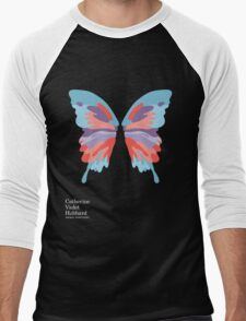 Catherine's Butterfly - Dark Shirts Men's Baseball ¾ T-Shirt