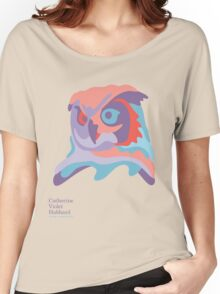 Catherine's Owl - Light Shirts Women's Relaxed Fit T-Shirt