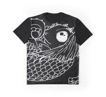 Hatchling -  White Line Art on Black  Graphic T-Shirt