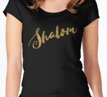 Golden Look Shalom Women's Fitted Scoop T-Shirt