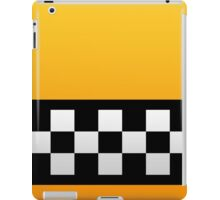 Taxi squares and stripes  iPad Case/Skin
