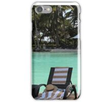 pool at resort iPhone Case/Skin