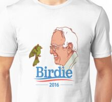 Birdie Sanders Bernie Sanders #BirdieSanders President #FeelTheBird Feel The Bern Cartoon Meme Green Unisex T-Shirt