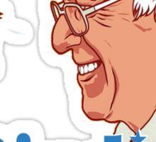 Birdie Sanders Bernie Sanders #BirdieSanders President #FeelTheBird Feel The Bern Cartoon Meme Green Sticker